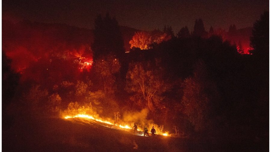 Evacuations Ordered as Wildfire Spreads in Bay Area Town
