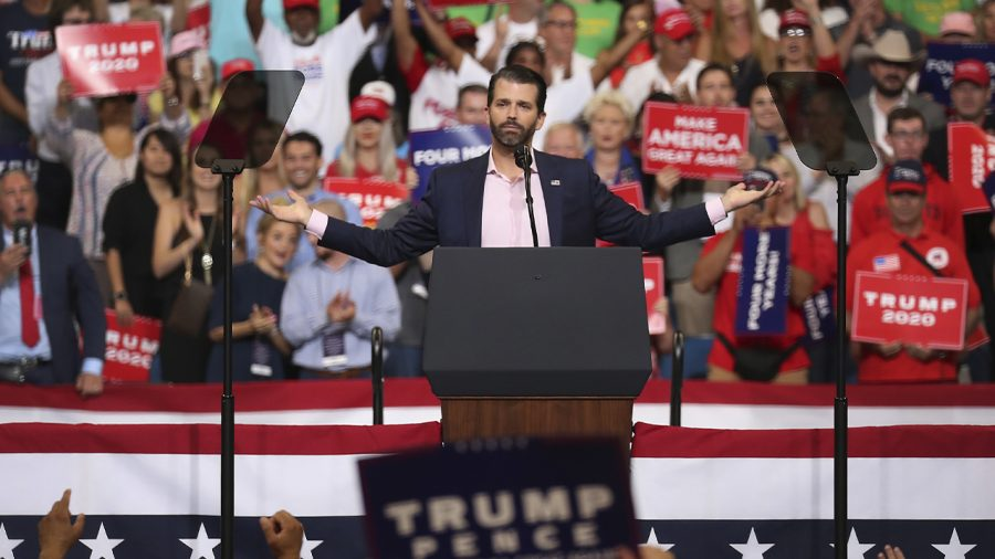 Trump Jr: Wish My Name Was Hunter Biden