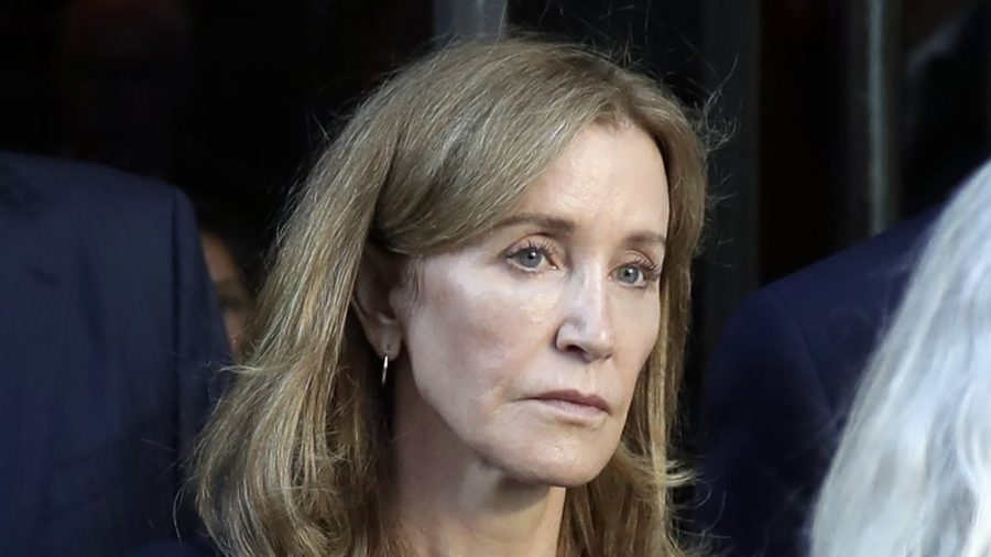 Felicity Huffman Seen in Prison Uniform as She Serves Time in College Cheating Case