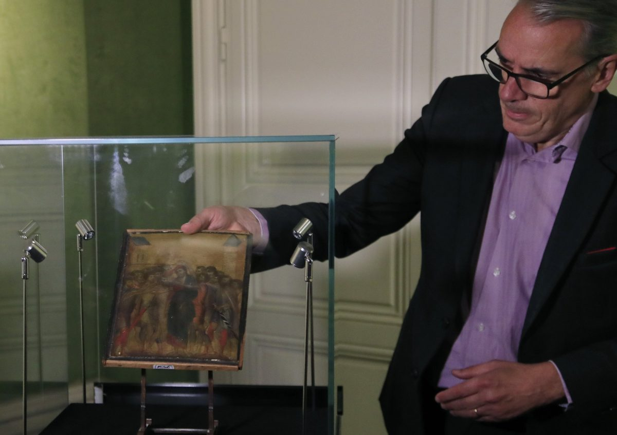Masterpiece found in elderly French woman's kitchen could fetch millions