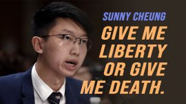"""Give Me Liberty or Give Me Death!"" – Hong Kong Protesters"