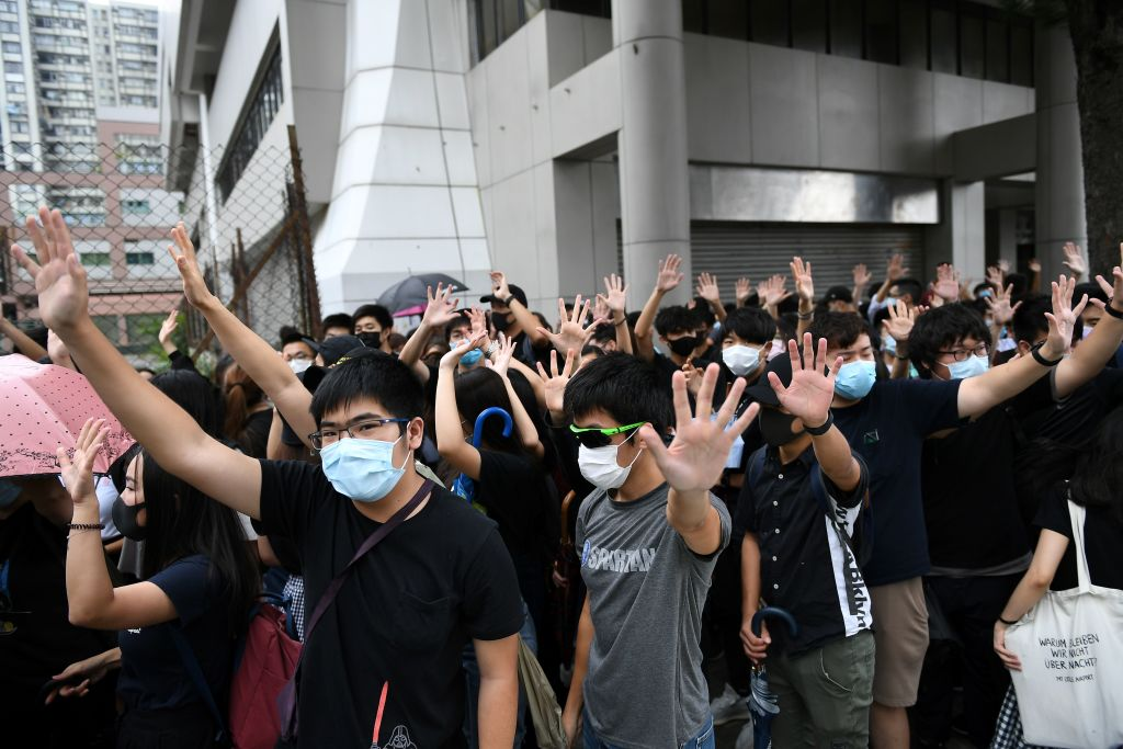 Hong-Kong-protesters