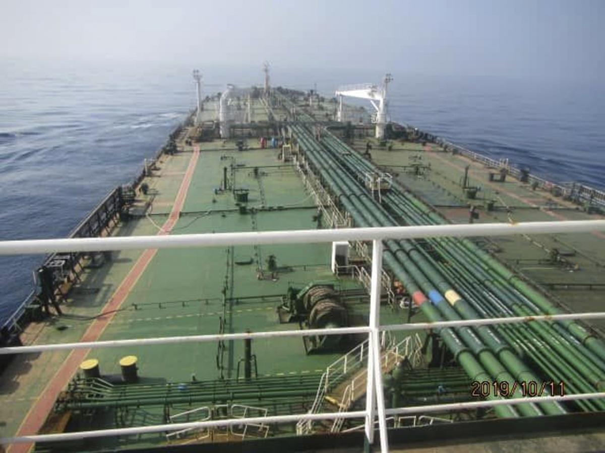 Iran oil tanker SABITI 2