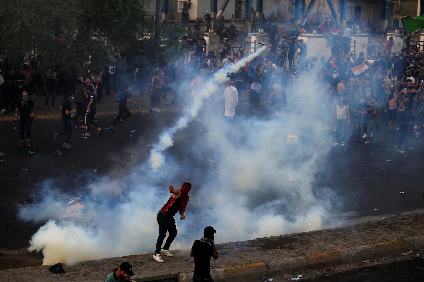 Child Killed, Eight People Injured in Renewed Baghdad Protests