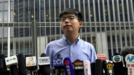Joshua Wong Barred From Local HK Election Says Beijing Interfering