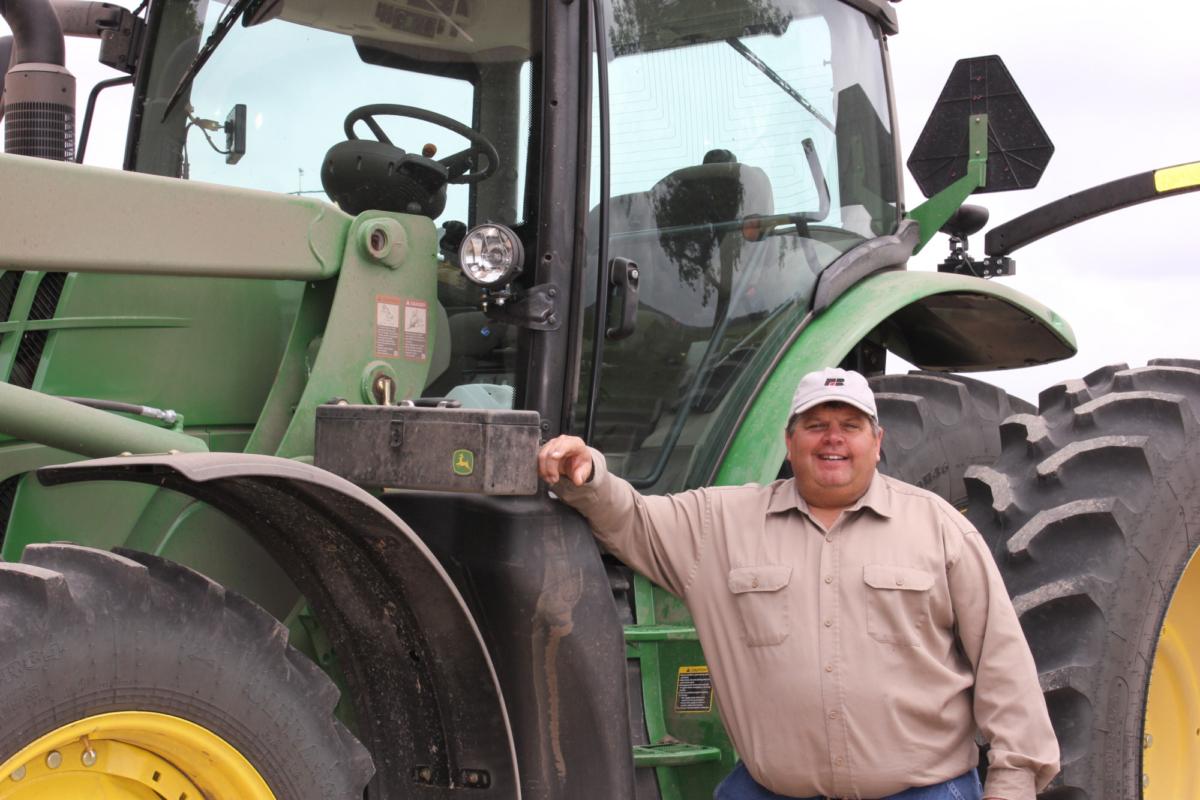 Kevin Paap, a farmer