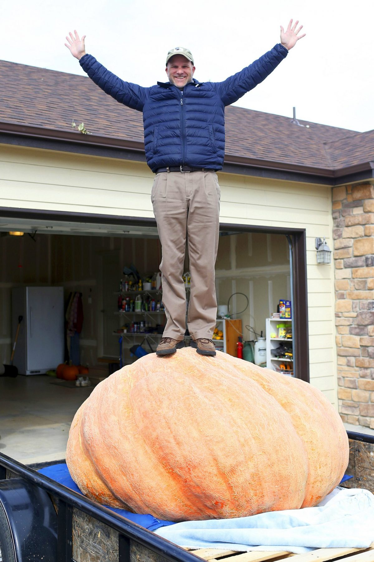 Largest pumpking of Wyoming 1
