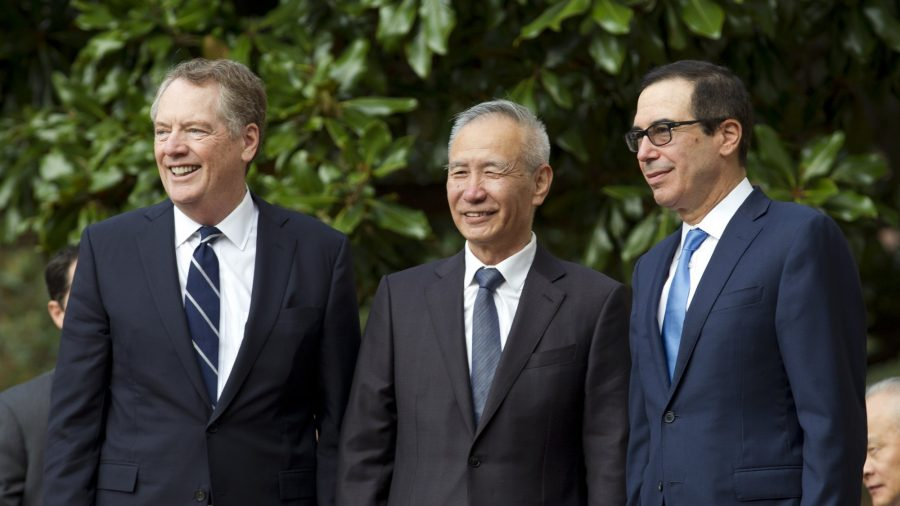 Day 1 of US-China Trade Talks Ends With Hopes for Limited Deal