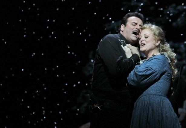 Marcello Giordani performs in opera