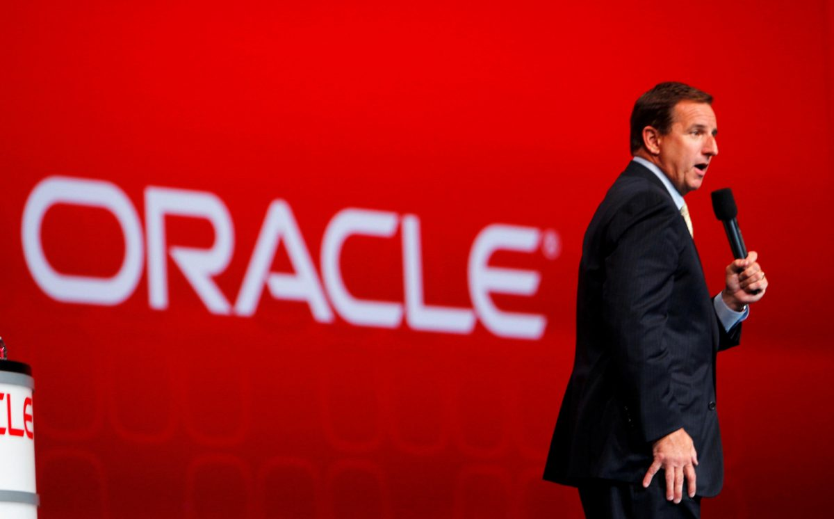 Mark Hurd, CEO of Oracle Corporation 2