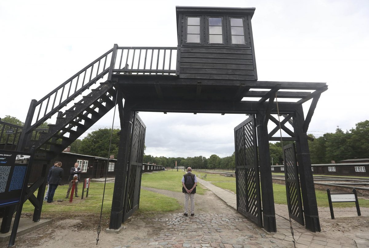 Nazi German Stutthof concentration camp