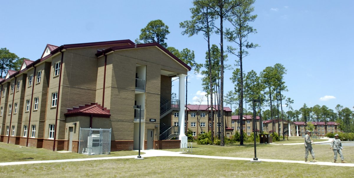 New barracks in Fort Stewart