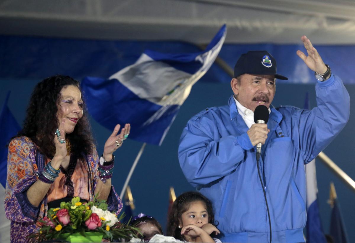 Nicaragua daniel ortega, Rosario Murillo