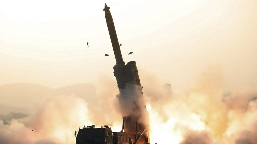 North Korea Says It Test-Fired New Multiple Rocket Launcher