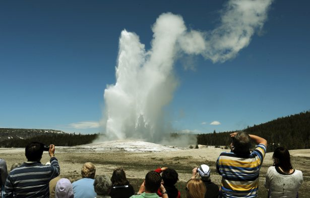 Yellowstone Tourist Left With 'Severe Burns' After Tripping in Dark at Old Faithful Geyser