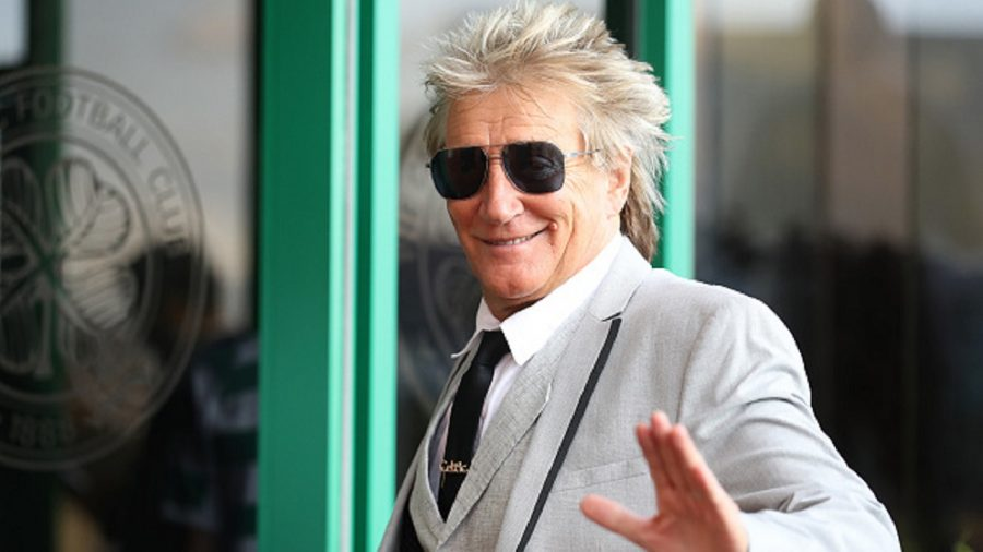 Rod Stewart Crashes Couple's Las Vegas Wedding and Sings to Them