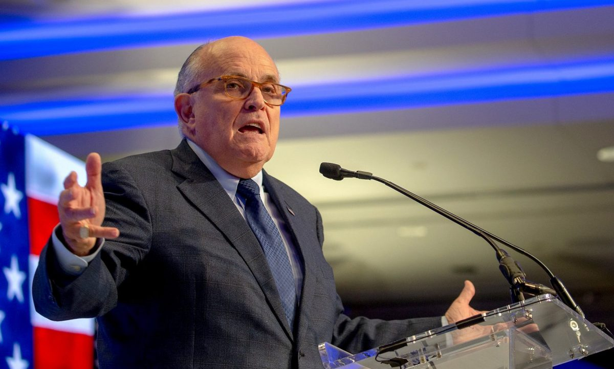 former Mayor of New York City Rudy Giuliani
