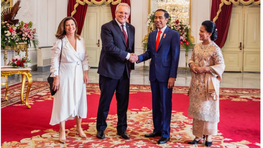 Australian PM Meets With Chinese Vice President in Indonesia