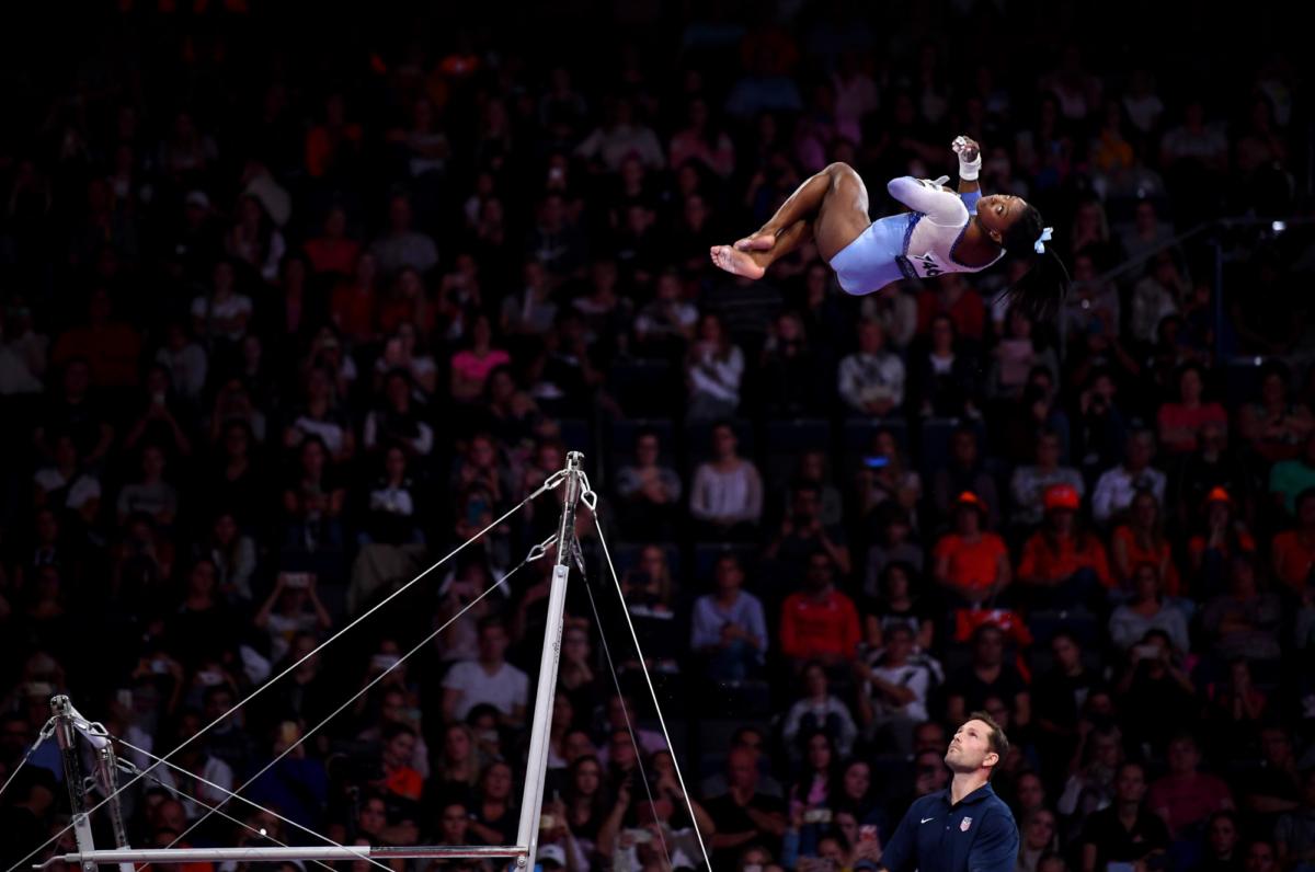 Simone Biles US gymnast