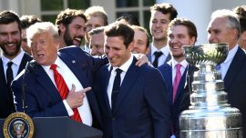 St. Louis Blues Celebrate Stanley Cup Win at White House