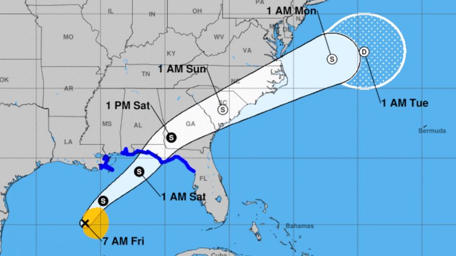 Tropical Storm Likely Along Gulf Coast, Storm Warnings Issued: NHC Says
