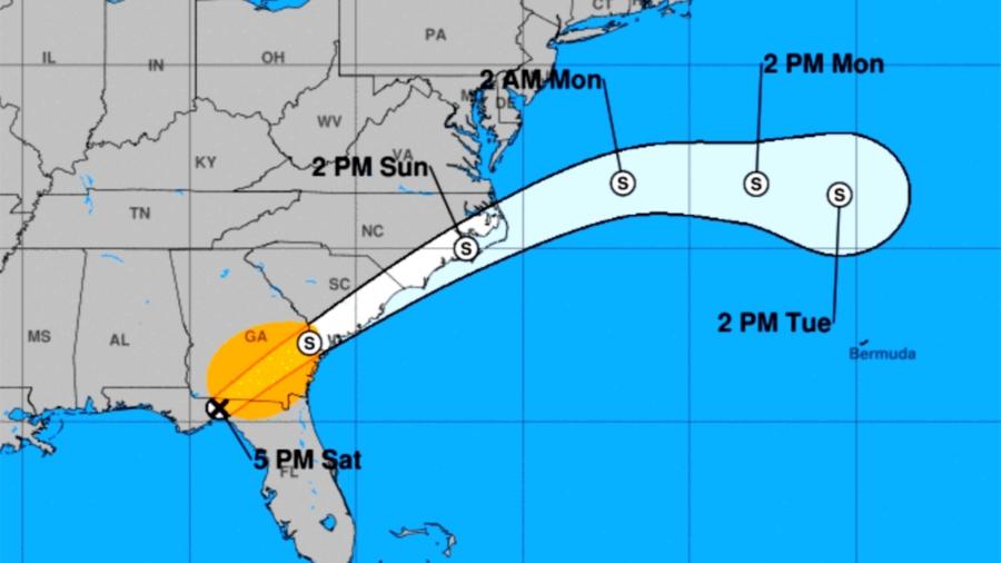 Nestor Downgraded as Tornadoes Damage Florida Homes
