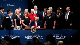 Trump Signs Executive Order to Improve Medicare