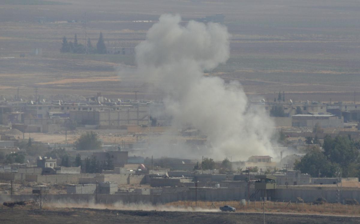 Turkey attacks Syria