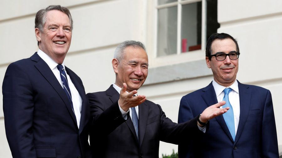 Top-Level US-China Trade Talks Resume; Trump to Meet Chinese Vice Premier