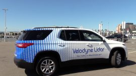 Silicon Valley Showcases Self-Driving Cars