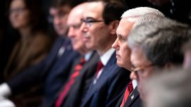 Pence Outlines US Space Vision, Working With 'Freedom-Loving' Nations, in Speech
