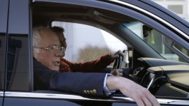 Bernie Sanders Home in Vermont After Heart Attack