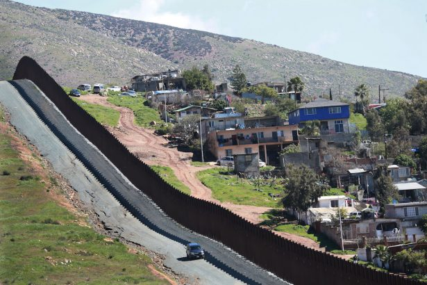 Pentagon Authorizes $3.8 Billion To Support Southern Border Wall