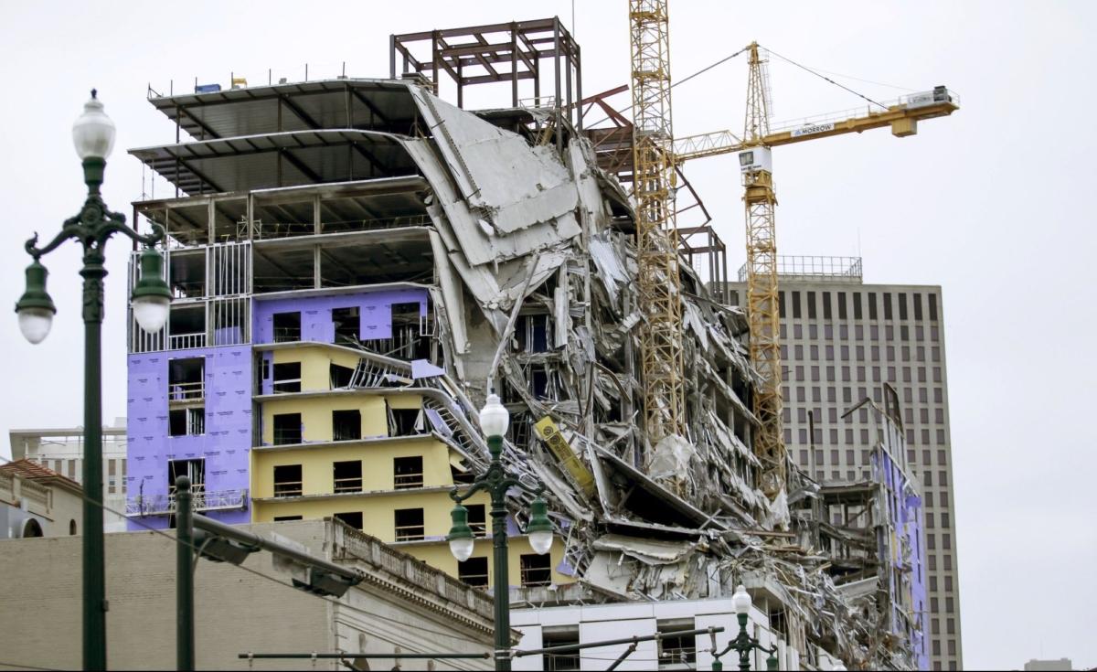 building collapse partial