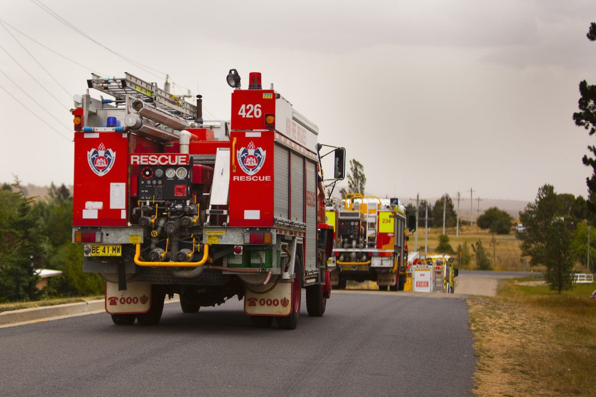 firetruck nsw australia