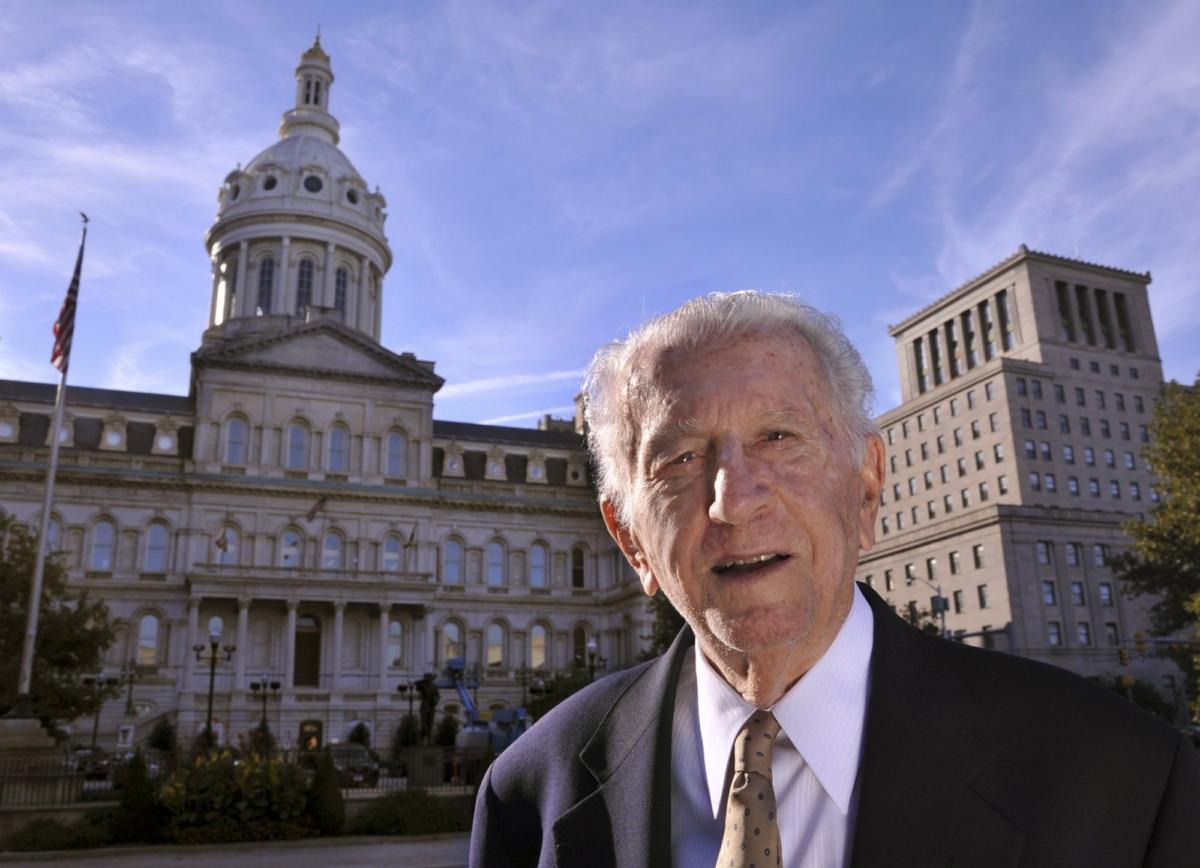 former Baltimore Mayor Thomas D'Alesandro III