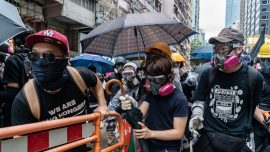 Hong Kong Court Rejects Injunction to Suspend Anti-Mask Law for the Second Time