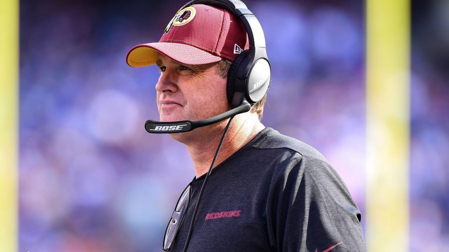 Jay Gruden Fired by Washington Redskins After the Team's Winless Start
