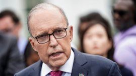 Kudlow Says Markets 'Have Gone Too Far,' Urges Calm Amid Wall Street Selloff