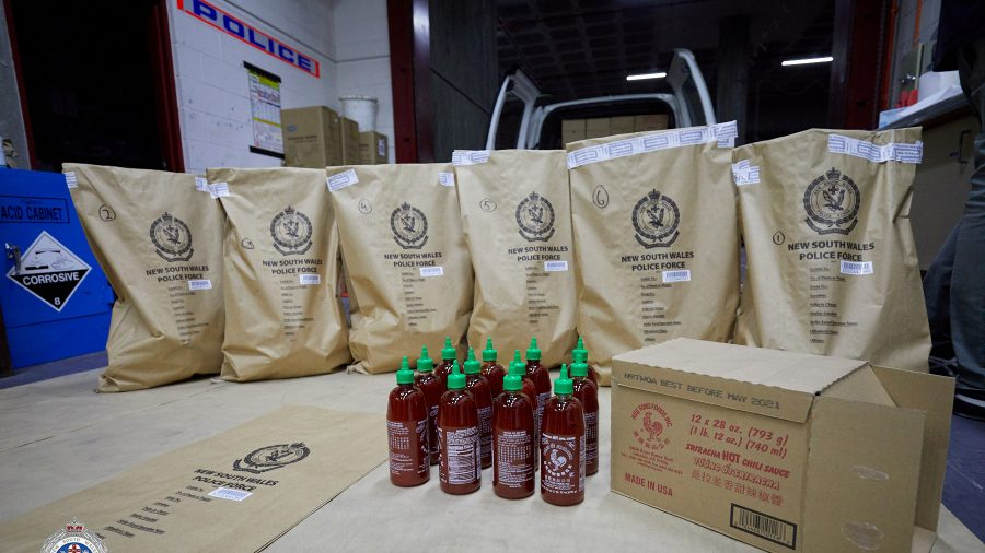Red Hot Bust: Australian Police Seize 881 Pound of 'Ice' Hidden in Chili Sauce Bottles