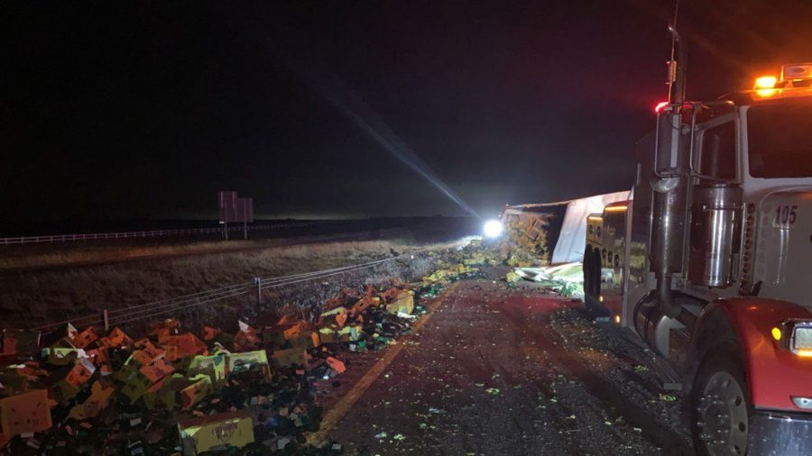Truck Accident Leaves Thousands of Avocados Spilled on Texas Highway