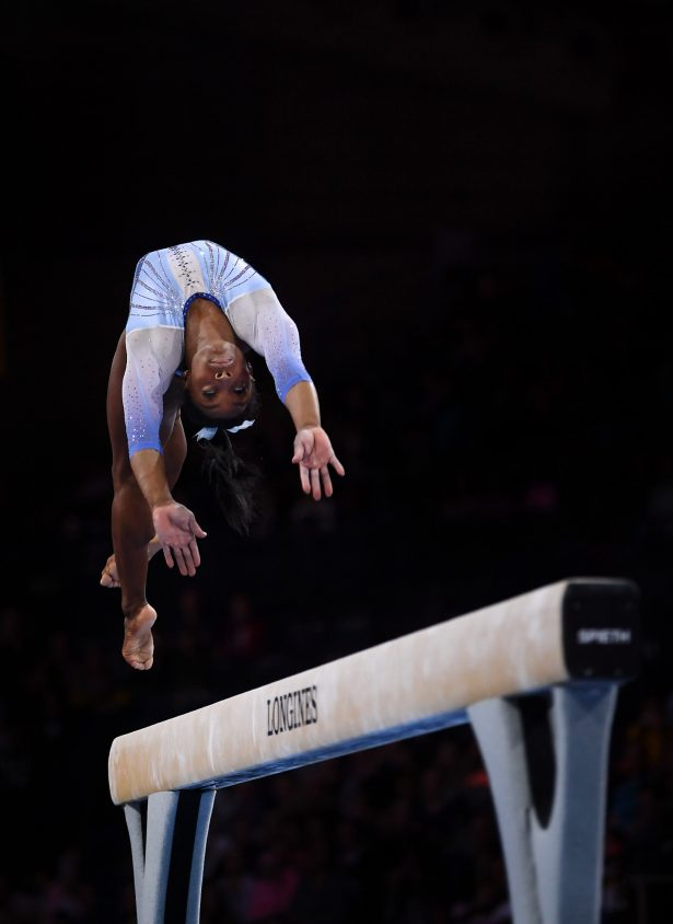 Simone Biles gymnastic moves