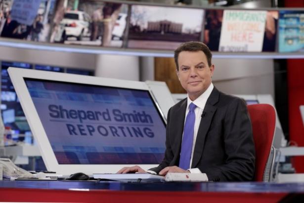 Fox News Channel chief news anchor Shepard Smith
