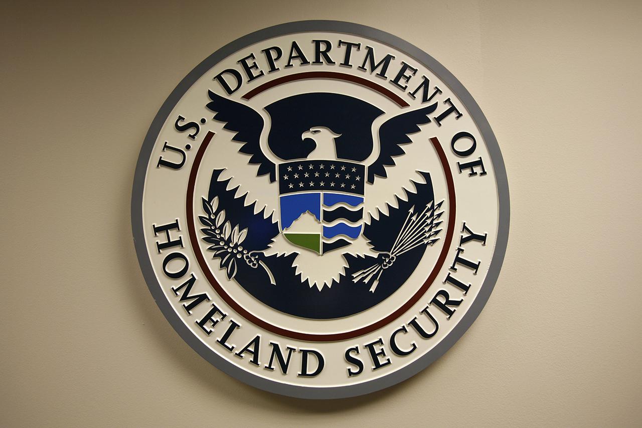 U.S. Department of Homeland Security Logo.