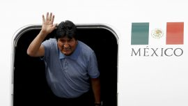 Evo Morales Lands in Mexico After Accepting Political Asylum
