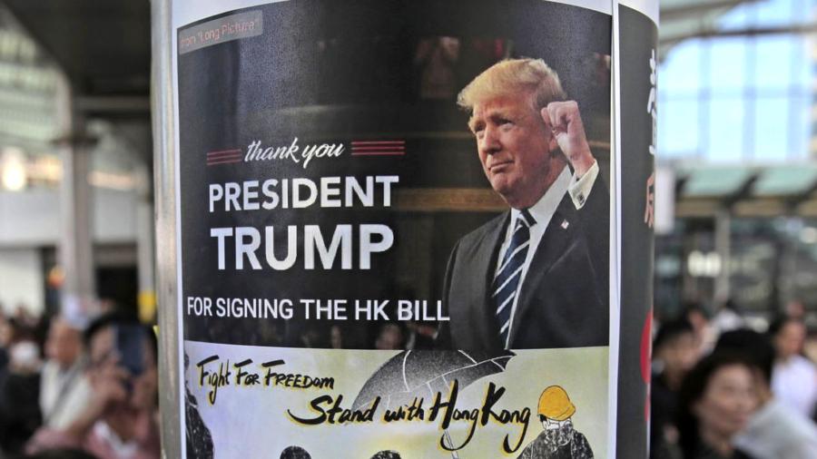 Chinese Regime Summons US Ambassador After Trump Signs Hong Kong Bills