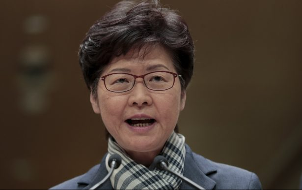 Hong Kong Leader Says Not Cooperating With US on Port Calls After China Retaliates Human Rights Bill