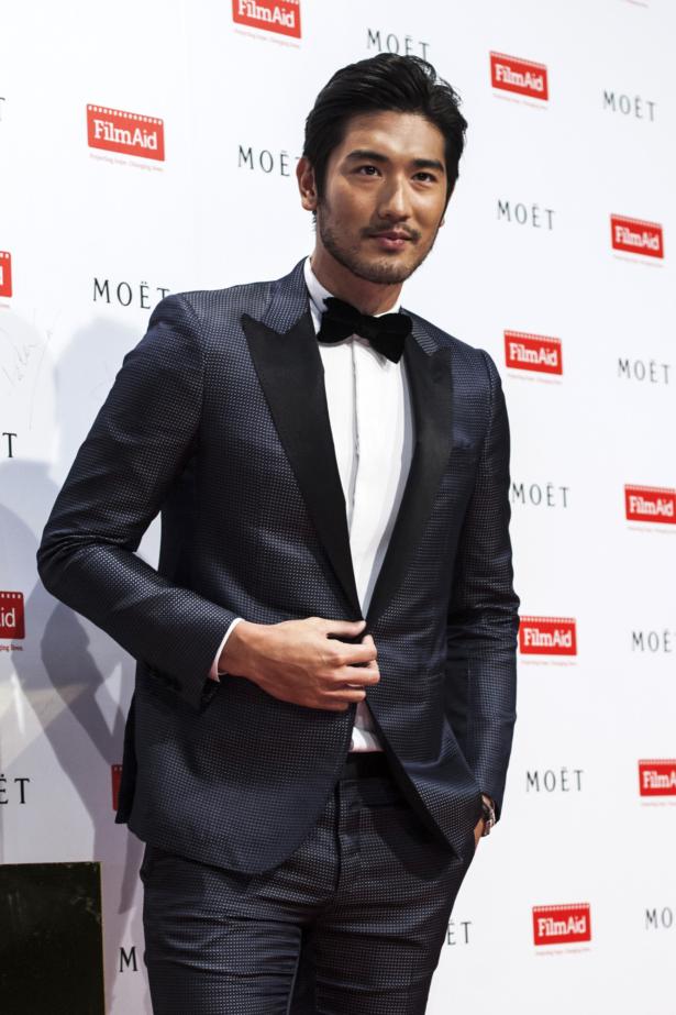 Chinese actor Godfrey Gao