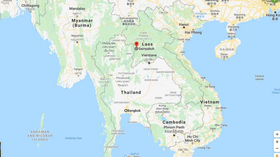 Earthquake Shakes Border Area Between Thailand and Laos