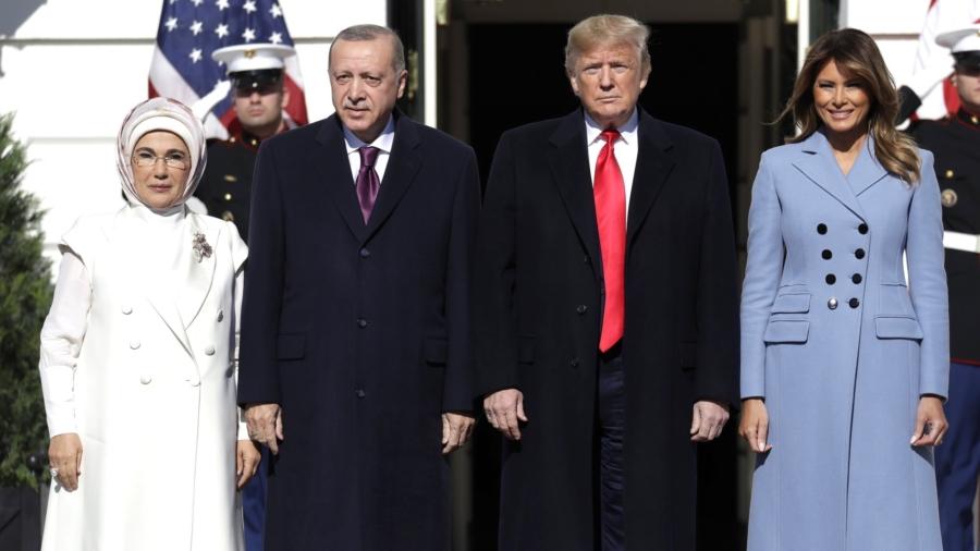 Trump Meets Turkish President Erdogan, Stresses Common Ground on ISIS, Trade